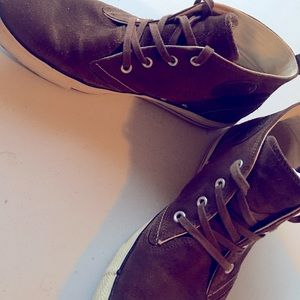 Brown Suede Men Converse